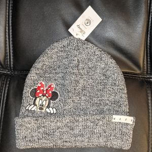 Neff Disney Minnie Mouse beanie, Gray, New
